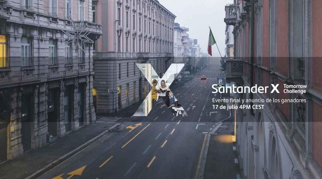 OrangeUP A Finalist For Santander X